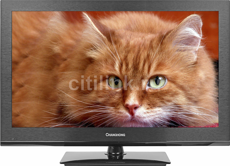 "LED телевизор CHANGHONG E32F868EC  ""R"", 32"", HD READY (720p),  черный"