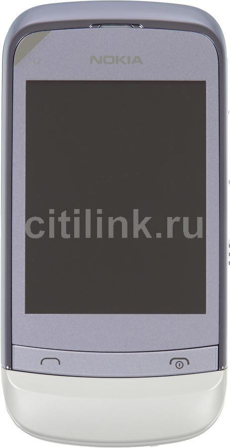 Мобильный телефон NOKIA C2-06  сиреневый