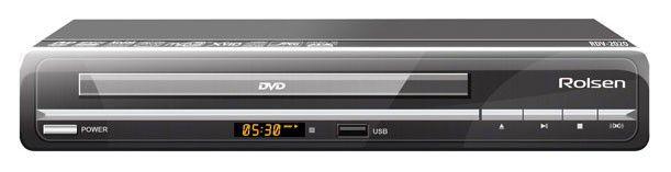 DVD-плеер ROLSEN RDV-2020,  черный