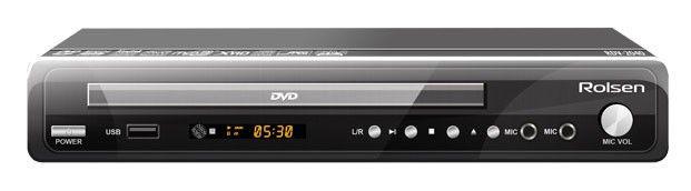 DVD-плеер ROLSEN RDV-2040,  черный
