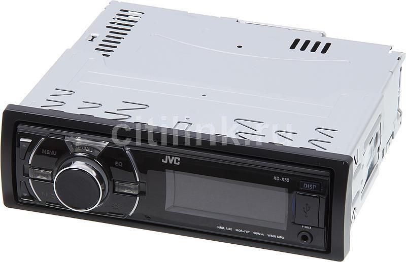 Автомагнитола JVC KD-X30EE,  USB