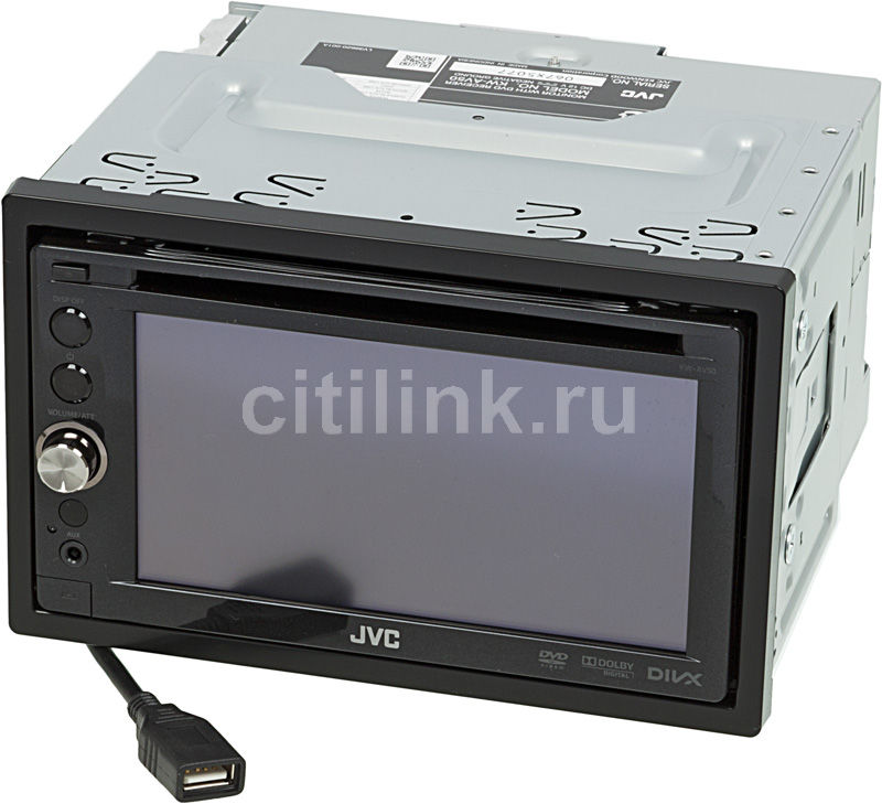 Автомагнитола JVC KW-AV50EE,  USB