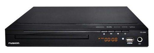 DVD-плеер FUSION FD-U161X,  черный