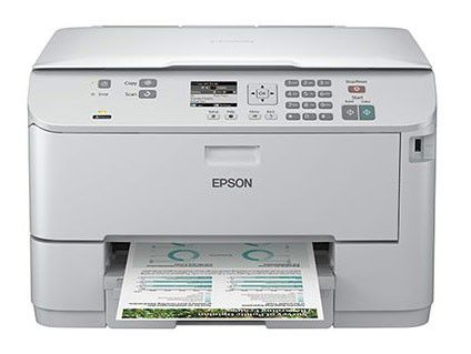 МФУ EPSON WorkForce Pro WP-4515DN, A4, цветной, струйный, белый [c11cb34301]