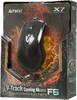 Мышь A4 F6 оптическая проводная USB, черный вид 8