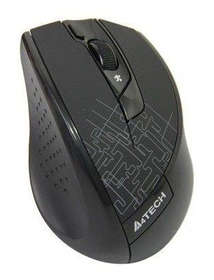 Мышь A4 G9-600HX оптическая беспроводная USB, черный