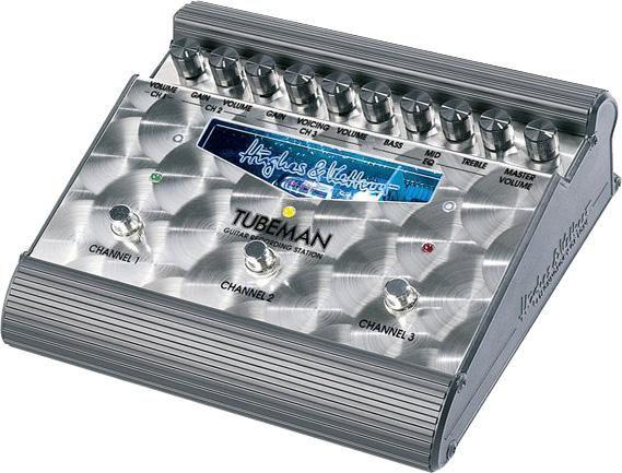 Ламповый гитарный предусилитель для электрогитар HUGHES&KETTNER Tubeman II
