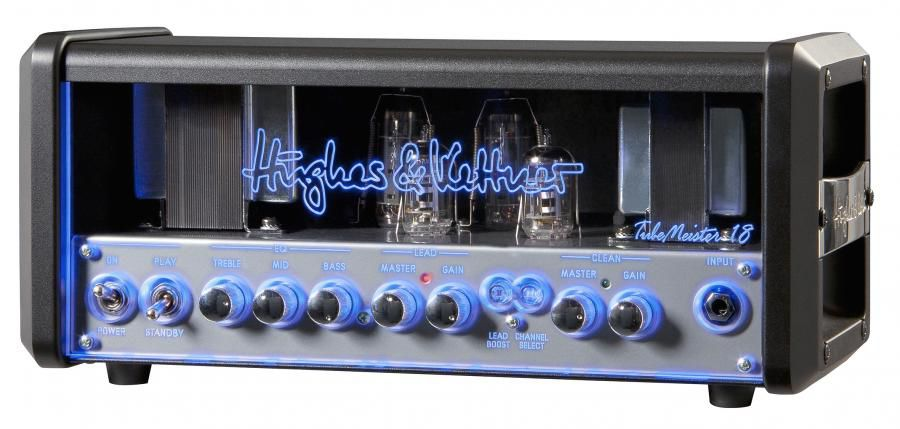 Ламповый гитарный усилитель для электрогитар HUGHES&KETTNER TubeMeister 18 Head