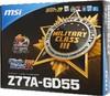 Материнская плата MSI Z77A-GD55, LGA 1155, Intel Z77, ATX, Ret вид 8