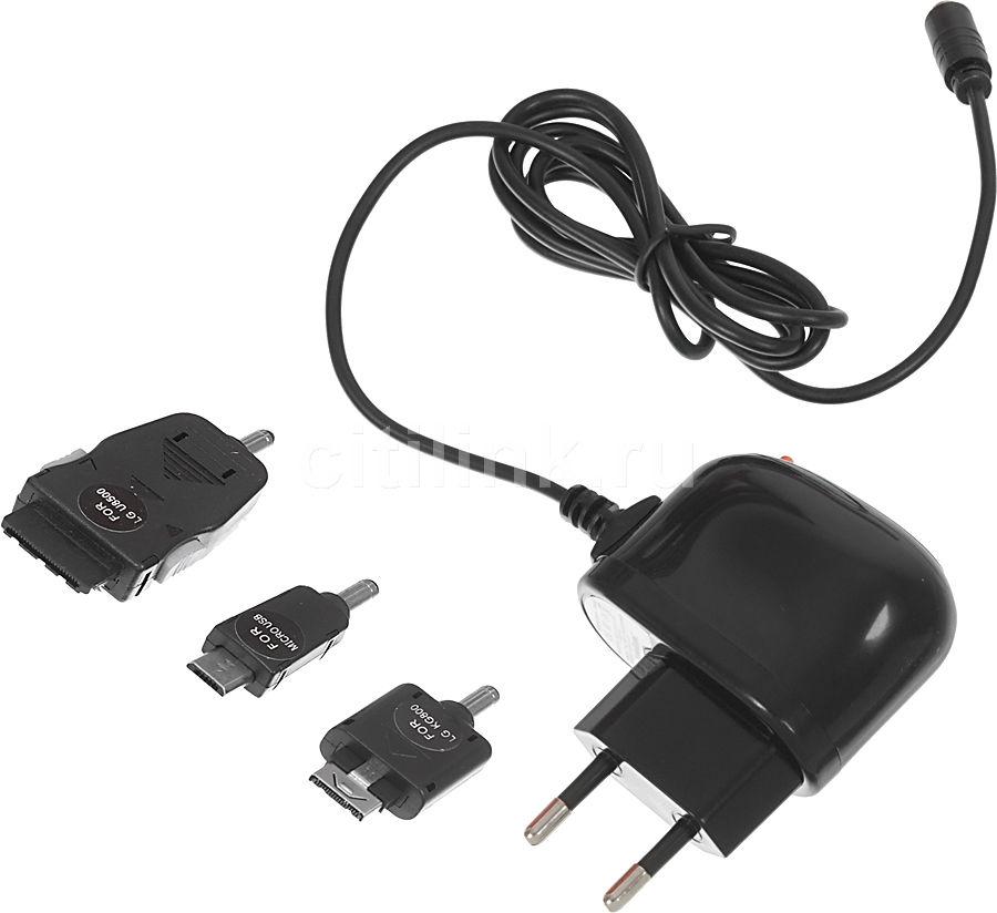 Сетевое зарядное устройство ENERGIZER LCHECTCMALG2,  microUSB/разъемы LG,  1A,  черный