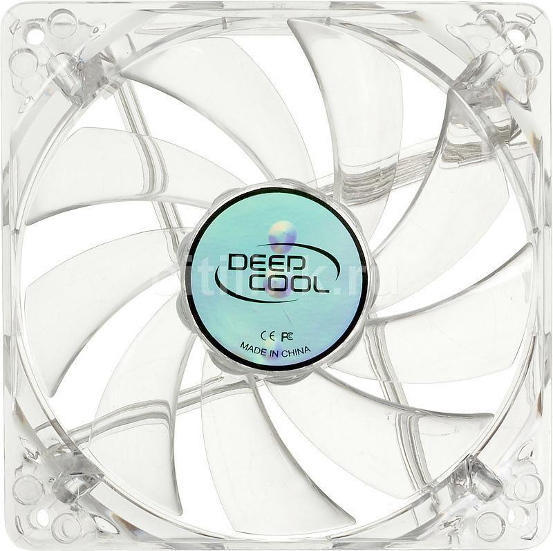 Вентилятор DEEPCOOL XFAN 120L/R,  120мм, Ret