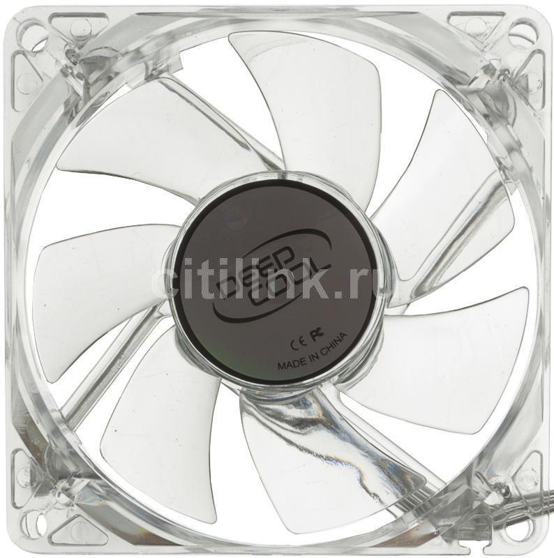 Вентилятор DEEPCOOL XFAN 80L/B,  80мм, Ret
