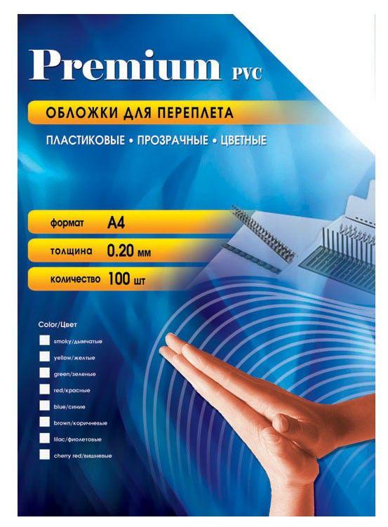 Обложка OFFICE KIT PRA400200,  A4,  200мкм,  100,  красный