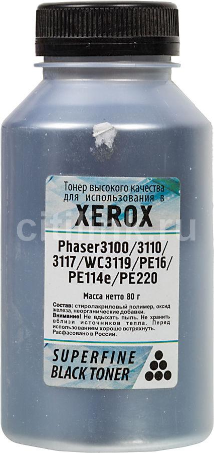 Тонер  SuperFine,  для Phaser 3100/3110/3120/3140/3160/3210/WC3119/P8e,  черный, 80грамм, флакон