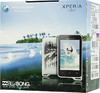 Смартфон SONY Xperia active ST17i  черный/белый вид 10