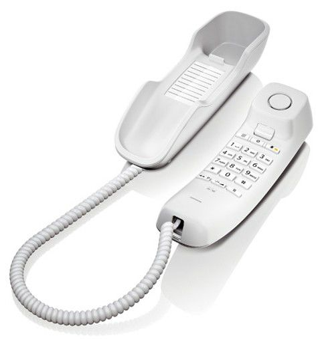 Проводной телефон GIGASET DA210, белый