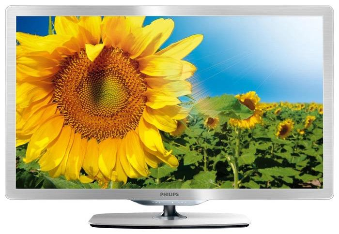 "LED телевизор PHILIPS 46PFL6806H/60  ""R"", 46"", FULL HD (1080p),  серебристый"