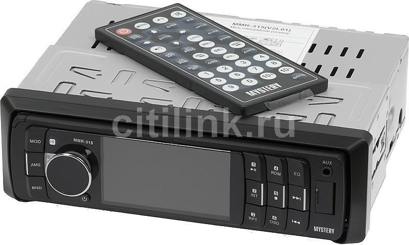 Автомагнитола MYSTERY MMR-315,  USB,  SD/MMC