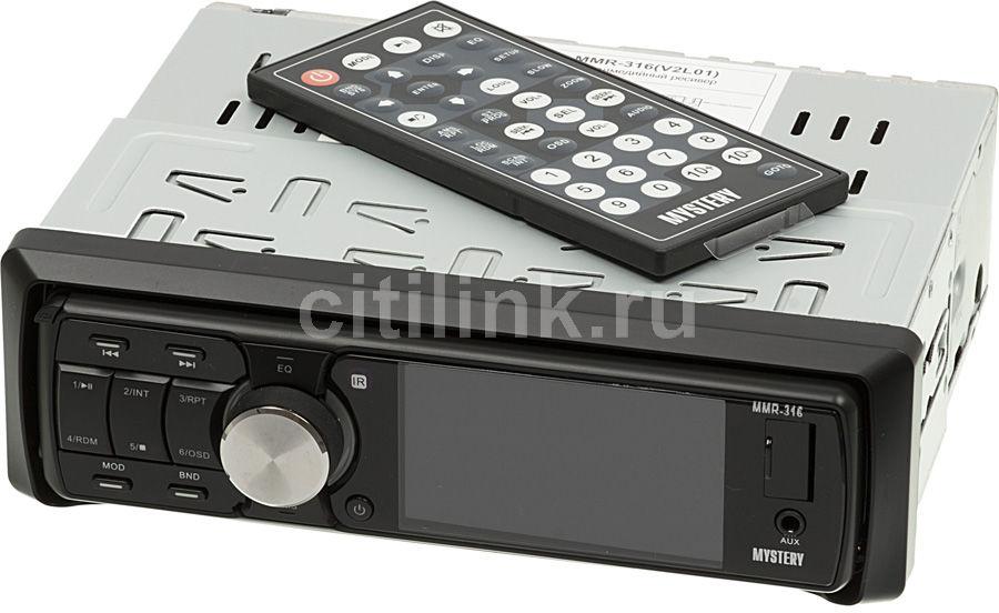 Автомагнитола MYSTERY MMR-316,  USB,  SD/MMC