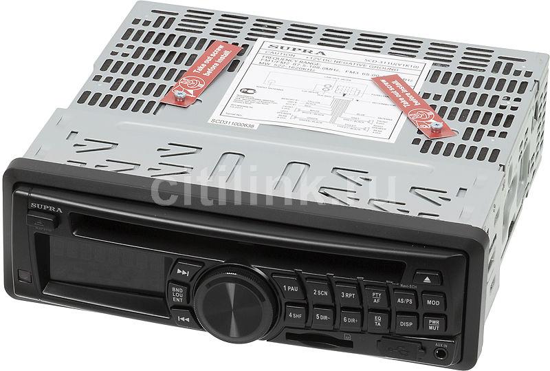 Автомагнитола SUPRA SCD-311U,  USB,  SD/MMC