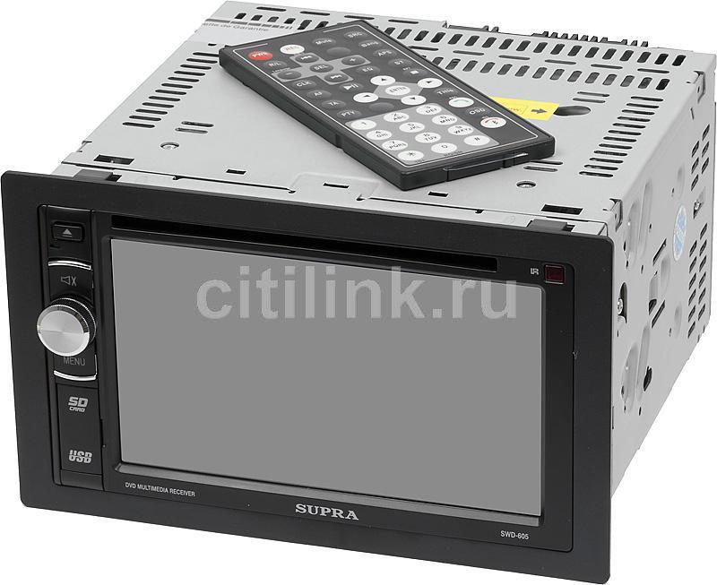 Автомагнитола SUPRA SWD-605,  USB,  SD/MMC