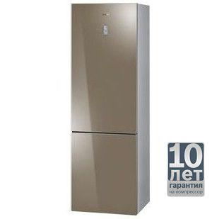 Холодильник BOSCH KGN36S56RU,  двухкамерный,  золотистый