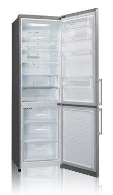 Холодильник LG GA-B489BMQZ,  двухкамерный,  серебристый