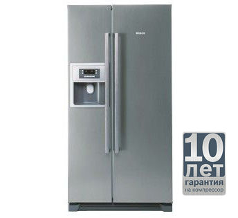 Холодильник BOSCH KAN58A45RU,  двухкамерный,  серебристый