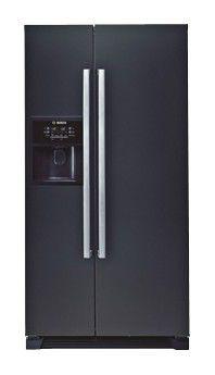 Холодильник BOSCH KAN58A55RU,  двухкамерный,  черный