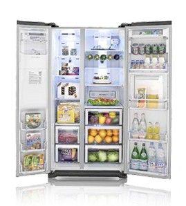 Холодильник SAMSUNG RSG5FURS1,  двухкамерный,  серебристый [rsg5furs1/bwt]