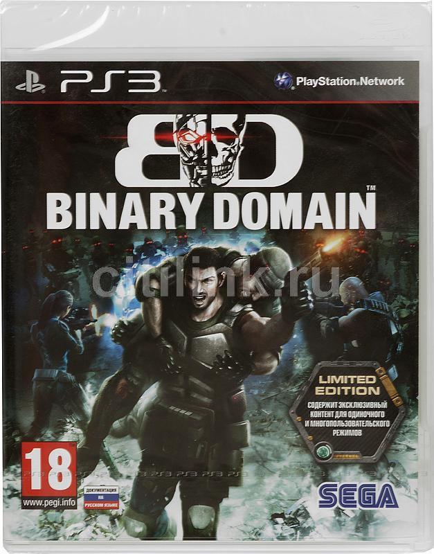 Игра SONY Binary Domain. Limited Edition для  PlayStation3 RUS (субтитры)