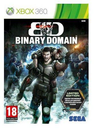 Игра MICROSOFT Binary Domain. Limited Edition для  Xbox360 RUS (субтитры)