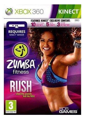 Игра MICROSOFT Zumba Fitness Rush (MS Kinect) для  Xbox360 Eng