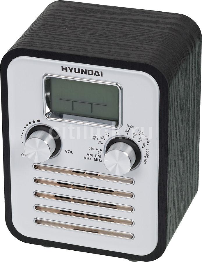 Радиоприемник HYUNDAI H-1623,  черное дерево