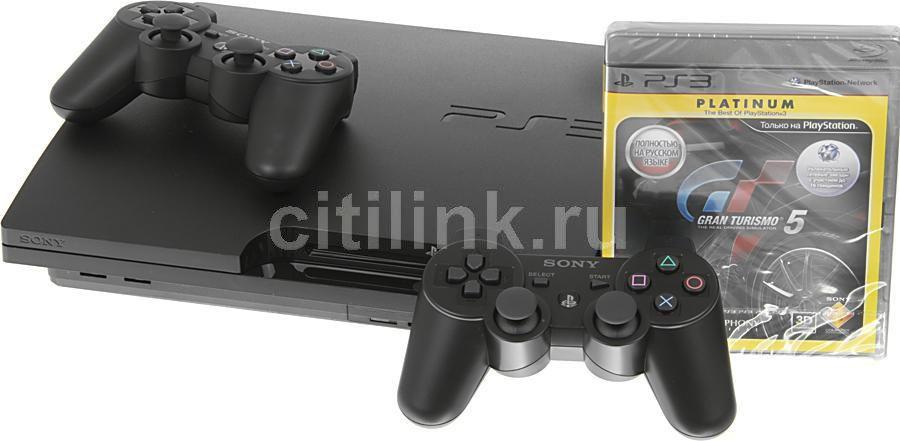 Игровая консоль SONY PlayStation 3 PS719219125, черный