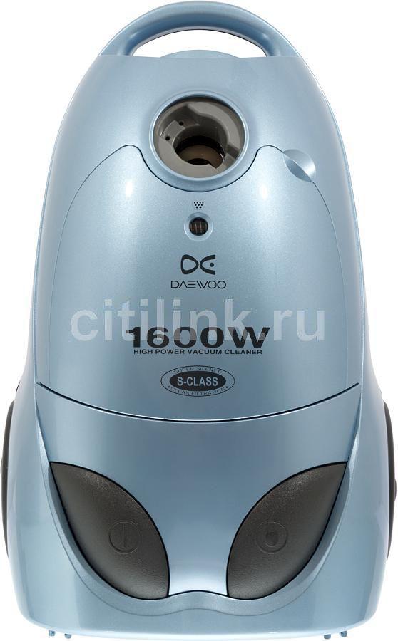 Пылесос DAEWOO RC-8001TA, 1600Вт, синий
