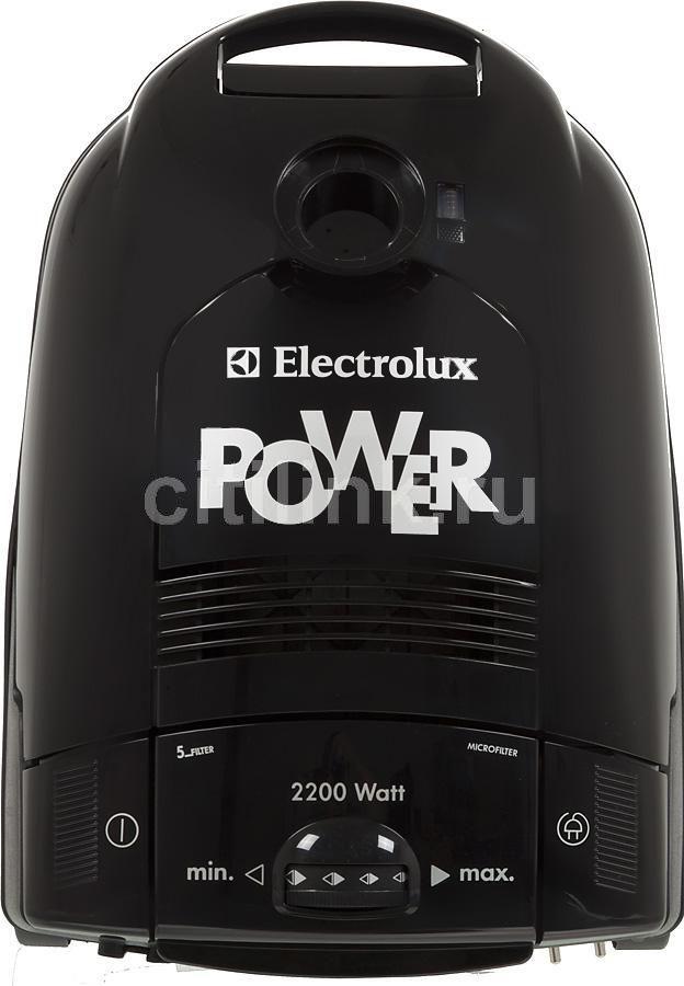 Пылесос ELECTROLUX ZCE2200, 2200Вт, черный