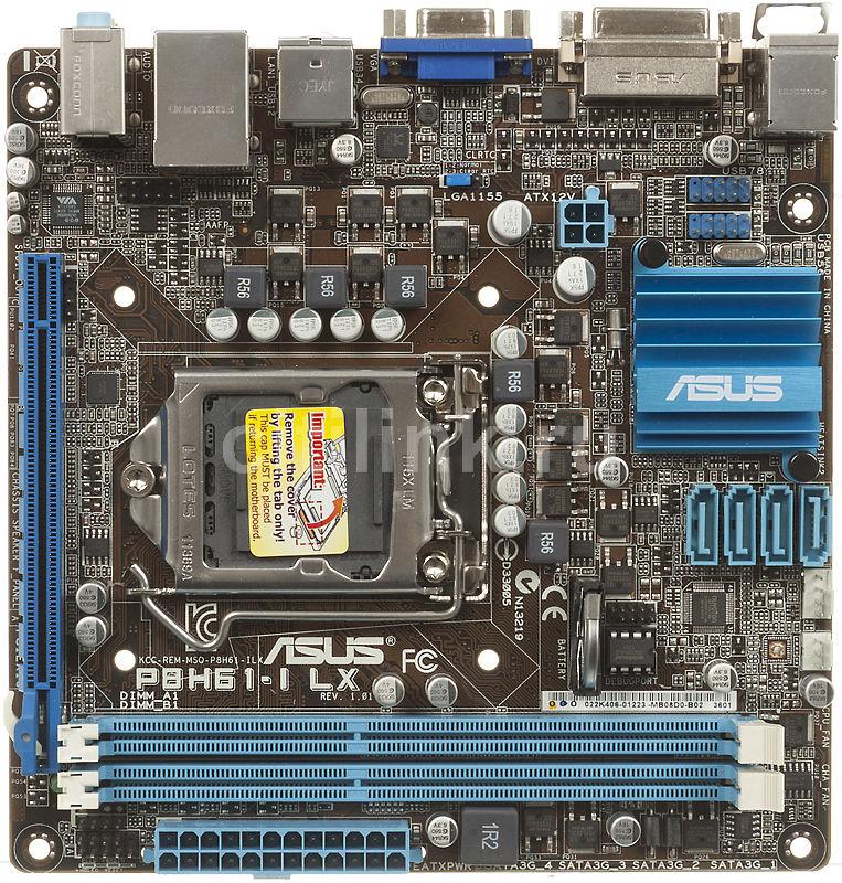 Материнская плата ASUS P8H61-I LX LGA 1155, mini-ITX, Ret