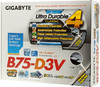Материнская плата GIGABYTE GA-B75-D3V LGA 1155, ATX, Ret вид 6