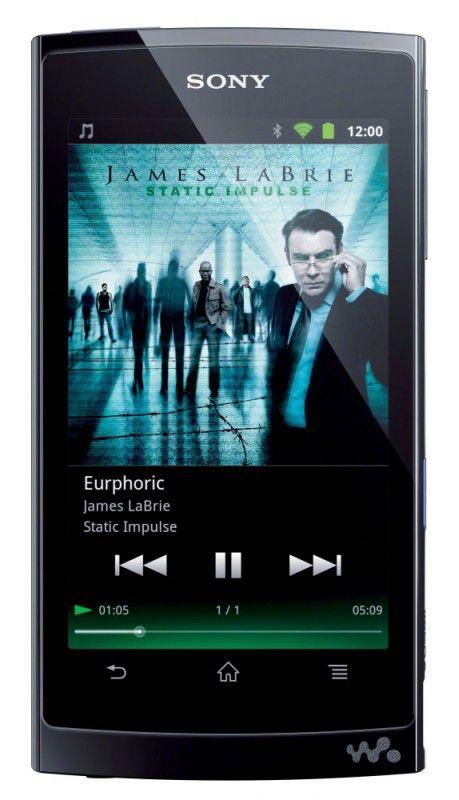 MP3 плеер SONY NWZ-Z1060 flash 32Гб черный [nwzz1060b.1cev]