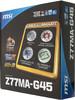Материнская плата MSI Z77MA-G45, LGA 1155, Intel Z77, mATX, Ret вид 6