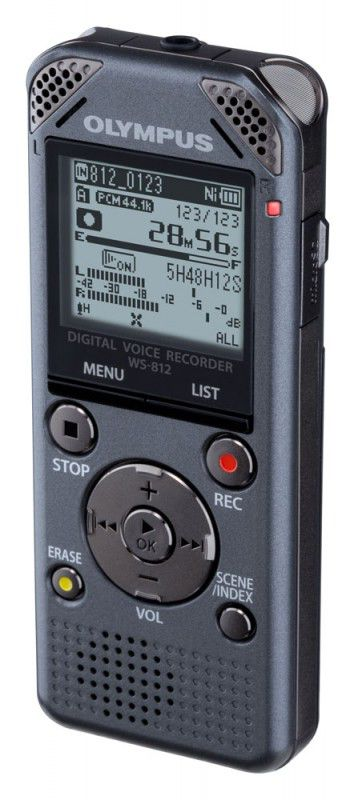 Диктофон OLYMPUS WS-812 4 Gb,  серый [v406151te000]