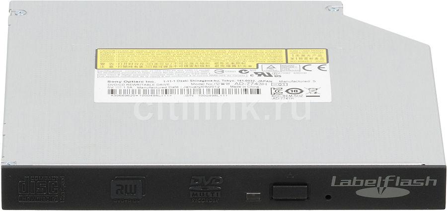 Оптический привод DVD-RW SONY AD-7743H-01, внутренний, SATA, черный,  OEM