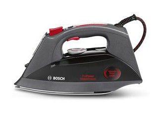 Утюг BOSCH TDS1216,  3100Вт,  черный/ красный