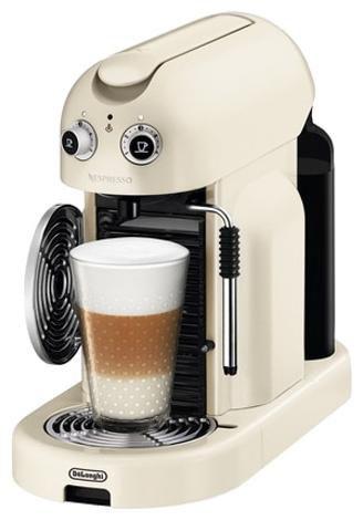 Капсульная кофеварка DELONGHI Nespresso Maestria EN450.CW, 2300Вт, цвет: бежевый [0132190568]