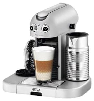 Капсульная кофеварка DELONGHI Nespresso Grand Maestria EN470.SAE, 2300Вт, цвет: серебристый [0132190569]