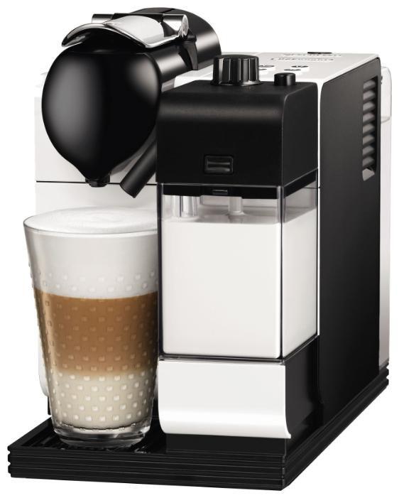 Капсульная кофеварка DELONGHI Nespresso Lattissima EN520.S, 1300Вт, цвет: серебристый