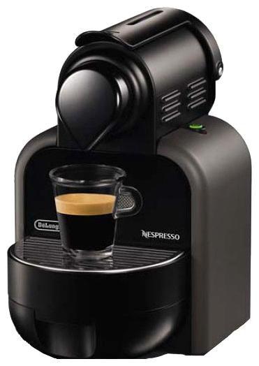 Капсульная кофеварка DELONGHI Nespresso Essenza EN90.GY, 1260Вт, цвет: черный