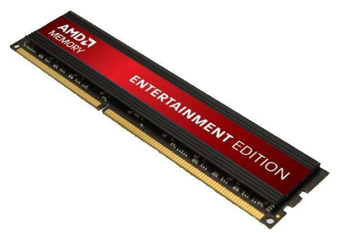 Модуль памяти AMD Entertainment Edition R538G1601U2S DDR3 -  8Гб 1600, DIMM,  OEM