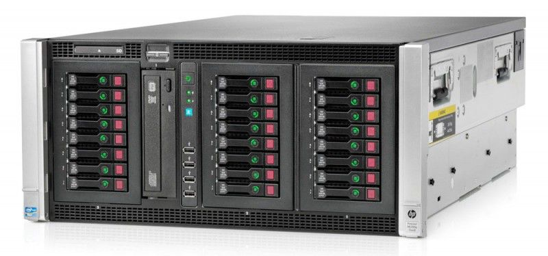 Сервер HPE ProLiant ML350pR08 1xE5-2630 2x4Gb x24 2.5 SAS/SATA RW P420i 1Gb 1G 4P 1x750W 3-3-3 (646 [646677-421]Серверы<br>Hot Swap HDD, Hot Swap AC, наличие привода DVD-RW<br><br>Линейка: ProLiant